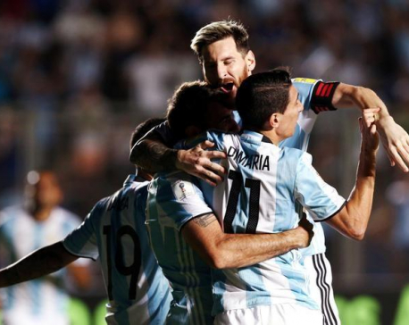 Messi magic puts Argentina back on World Cup track