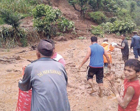 Landslide victims seek long-term solution