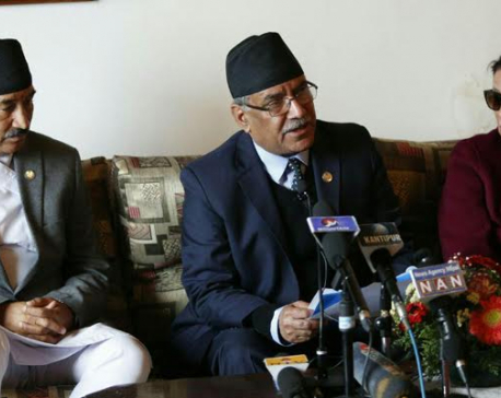 PM Dahal returns from China visit