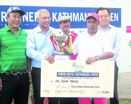 Rame crowned Surya Nepal golf champion