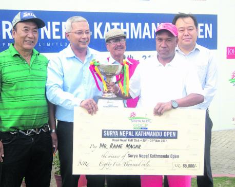 Rame crowned Surya Nepal golf champion