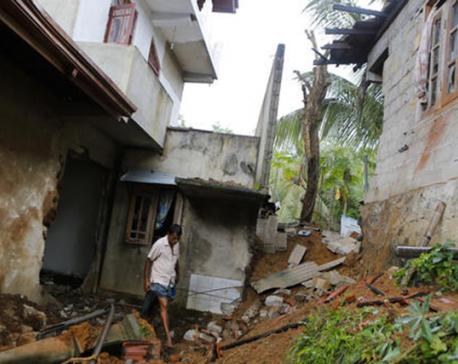 Fire triggers blasts at Sri Lankan army camp, killing 1