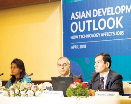 ADB anticipates 4.9 percent growth for Nepal