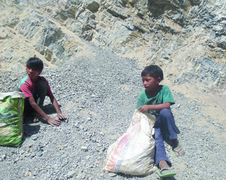 For poverty-stricken Rolpa kids work is better than play