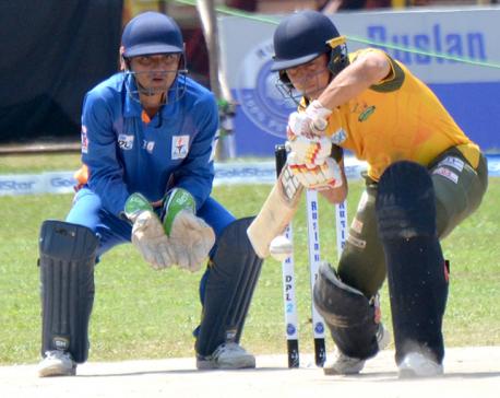 Dhangadhi sets 182 runs target for Kathmandu