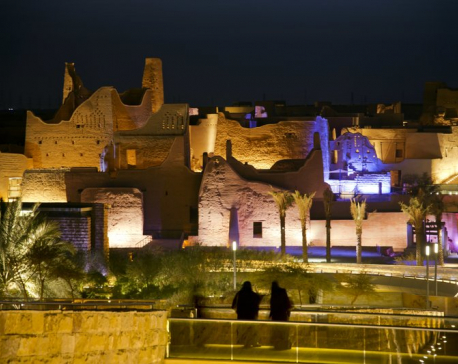 Saudi Arabia uses ancient tourist site to alter its history