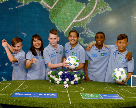 Gazprom's Footballs for Friendship International Children's Project debuts in Nepal