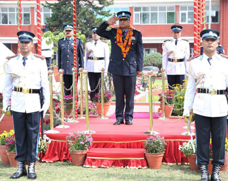 In pictures: IGP Khanal assumes office