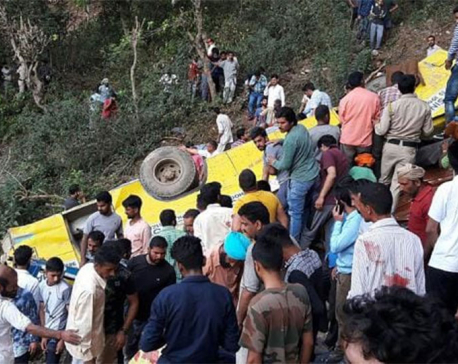 Indian bus tragedy: Dozens of children are dead after school bus plunged into gorge
