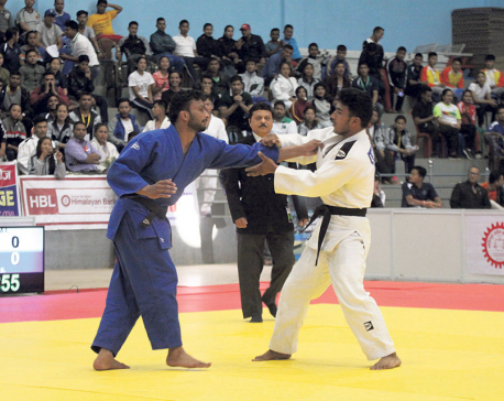 Shrestha wins gold, becomes first Nepali male judoka to defeat Indian opponent after 23 years