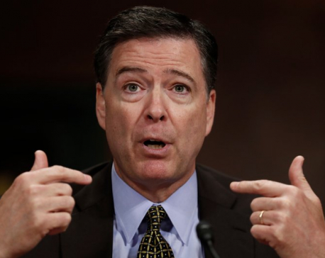 Comey says it possible Russians have leverage over Trump