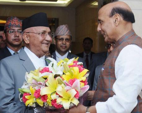 'Neighborhood first!' as India greets PM Oli