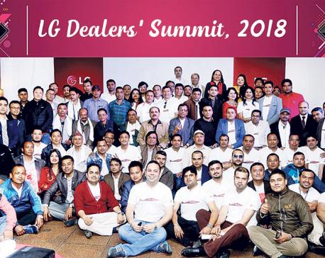 LG organizes Dealers' Summit