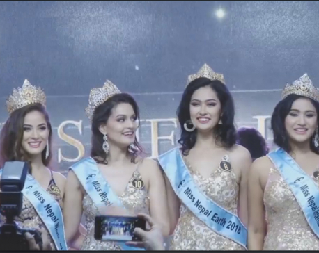 Shrinkhala Khatiwada crowned as Miss Nepal-World 2018