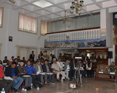 Khokana locals demand appropriate compensation for Kathmandu-Tarai Fast track