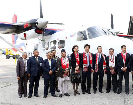 Chinese aircraft handed to NAC
