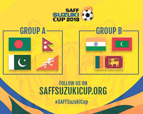 Nepal drawn along with B'desh, Pakistan, Bhutan in SAFF C'ship