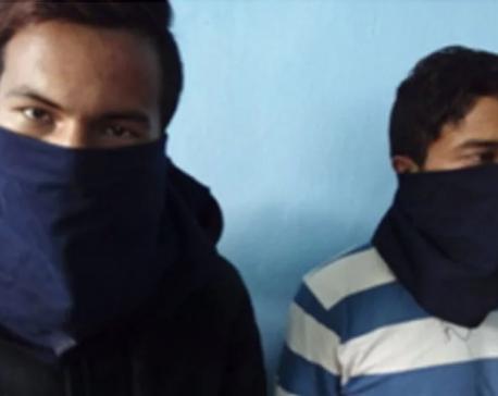 Former captain Shrestha arrested with stolen goods