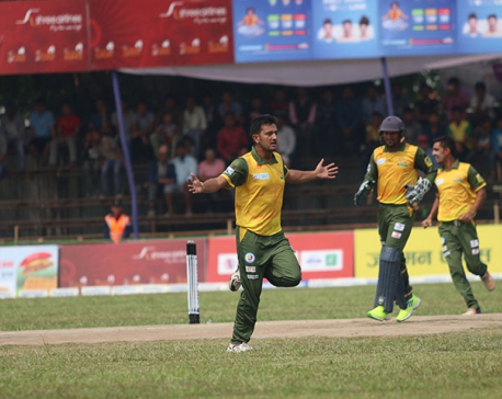 Dhangadhi Team defeats Mahendranagar United by 8 wickets