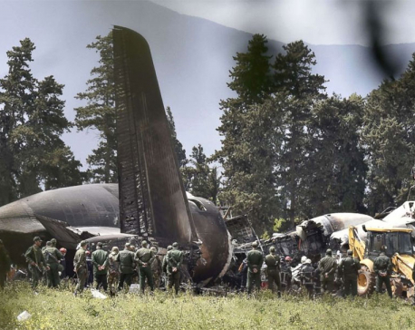 Update: Algerian military plane crash kills 257 people