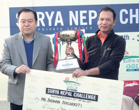 Bhuwan wins Surya Nepal NPGA Tour Championship