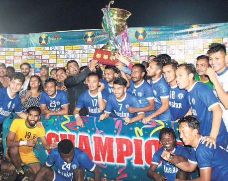 Three Star lifts Birat Gold Cup title