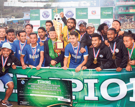 Three Star Club lifts Mai Valley Gold Cup title