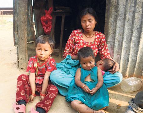 Malnutrition rampant among Chepang women, kids