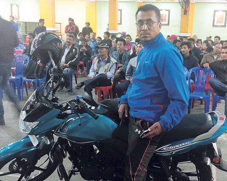 Shrestha wins Ganeshman Chess Tournament