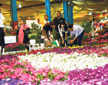 21st Flora Expo kicks off in Kathmandu