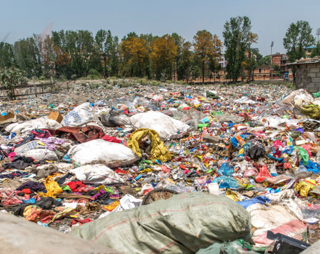 Sisdole landfill site packed; garbage collection after a week