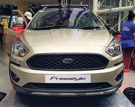 Ford Freestyle to hit Nepali market in May