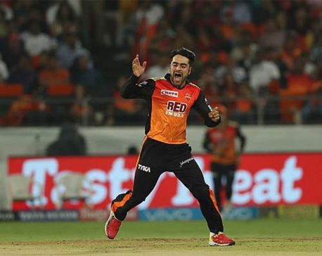 Inspirational Rashid Khan leads Sunrisers Hyderabad to 13-run win over Kings XI Punjab