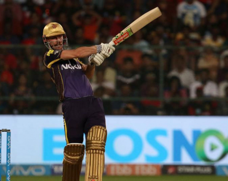 Chris Lynn guides Kolkata Knight Riders to win against Royal Challengers Bangalore