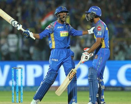 Sanju Samson, Krishnappa Gowtham guide Rajasthan Royals to tense win