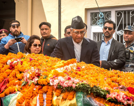 In pictures: Final tribute to NC leader Khadka