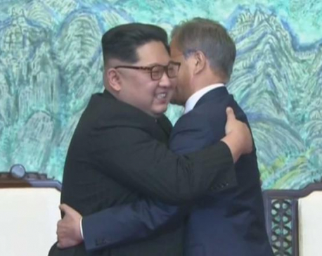 "Kim Jong Un: ""We have long waited for this moment to happen. All of us."""