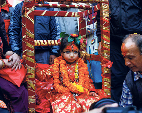 Cult of Living Goddesses Revival of the Makhan Kumari