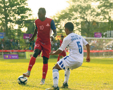 Madan Bhandari advances into Damak Gold Cup second round