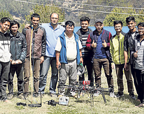 Locals delighted after 'medical drone' reaches Ramche carrying drugs