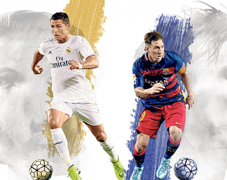 Messi and Ronaldo : Gods for Nepali football fans
