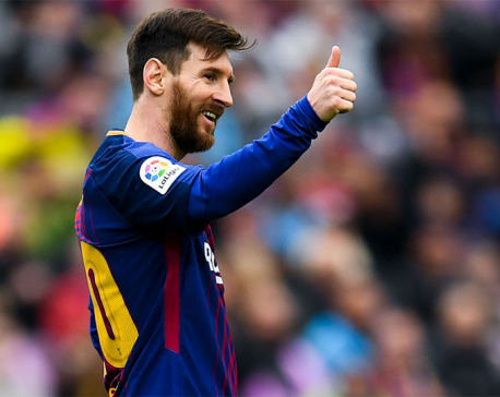 Barcelona 2-1 Valencia: La Liga leaders break all-time unbeaten record