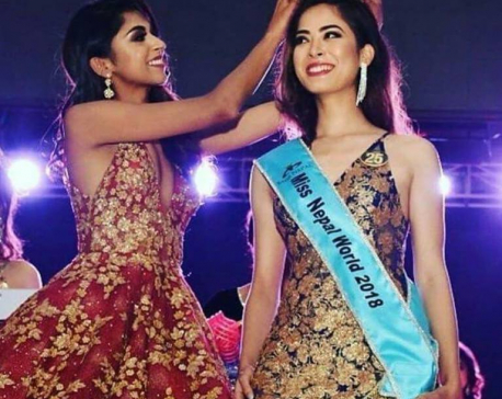 Govt should prioritize Miss Nepal: Miss Nepal Shrinkhala Khatiwada