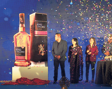 Nepal Liquors launches Royal Challenge Whisky