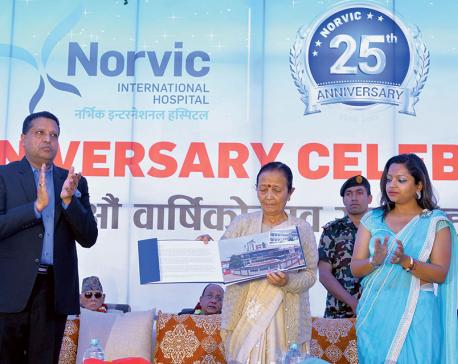 Norvic felicitates 14 senior docs