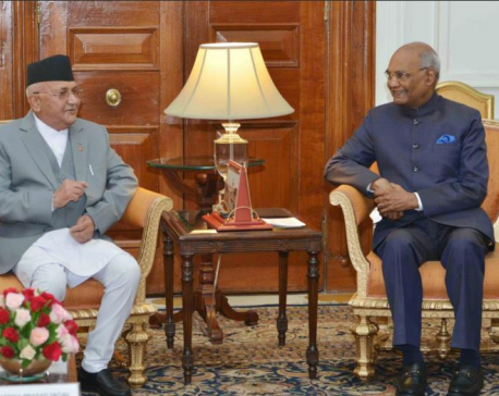 Indian Prez expresses commitment to Nepal's economic prosperity