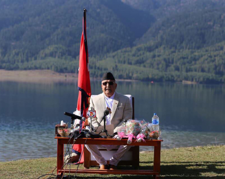 PM addresses nation from Rara Lake