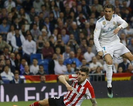 Ronaldo's backheel flick saves Real Madrid