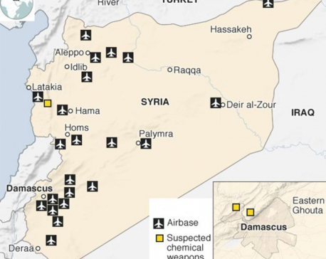 Syria air strikes: US still 'locked and loaded' for new chemical attacks