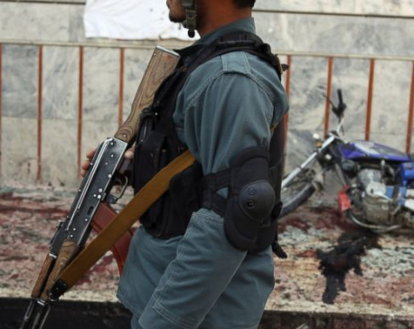 A day after ISIS kills 57, Taliban attacks kill 14 troops, policemen